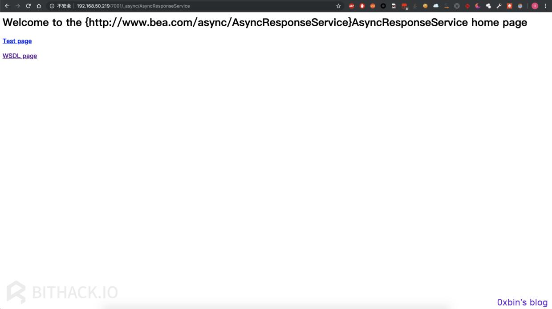 CNVD-C-2019-48814 Weblogic wls9_async_response 反序列
