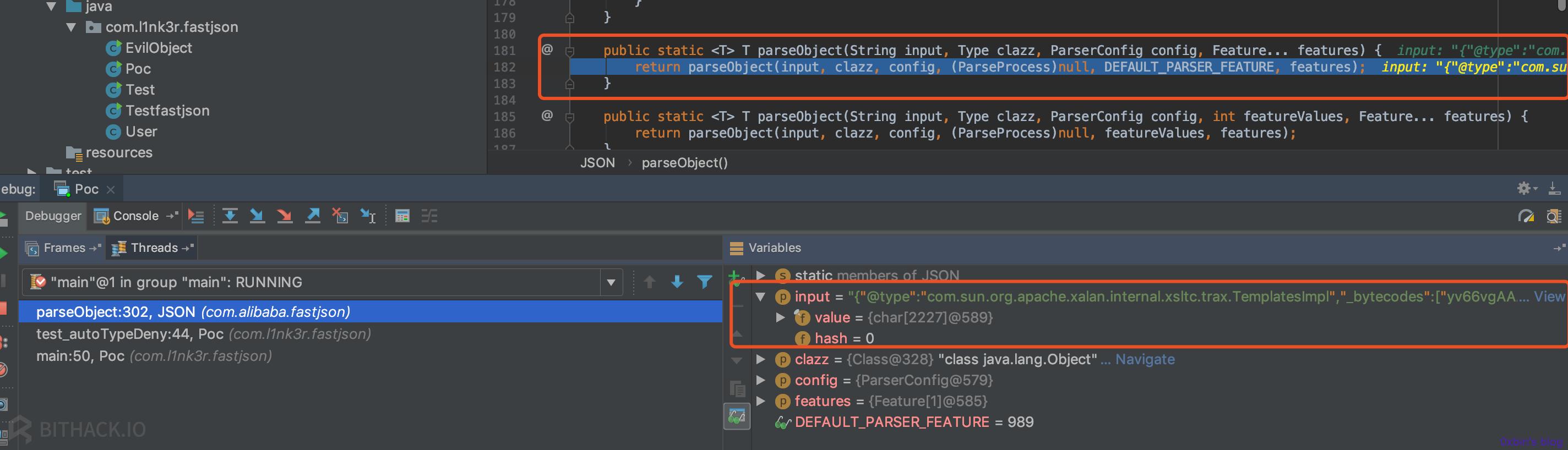 密码保护:FastJson 反序列化学习